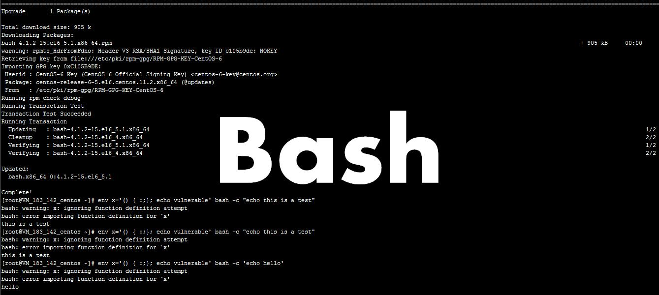 Linux Bash严重漏洞和事件后续