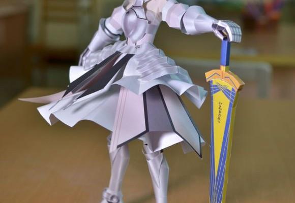 纸模 二次元狂热-大剑